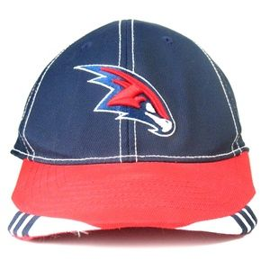 Atlanta Hawks Embroidered Baseball Cap NBA Sz S/M